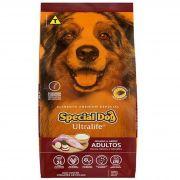 Ração Special Dog Ultralife Frango e Arrroz - Cão Adulto de Raça Média e Grande