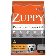 Ração ZUPPY Premium Especial Frango e Arroz - Cães Médio e Grande Portes.