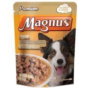 Sachê Magnus Premium Cães Adultos Sabor Cordeiro ao Molho 85g