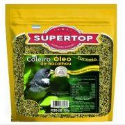Supertop Óleo de Bacalhau - Coleiro, Caboclinho, Patativa, Bigodinho e Galinho da Serra - Alimento premium – 500g