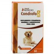 Suplemento Vitamínico Mineral e Aminoácido CONDROFOR PET - 60 Comprimidos