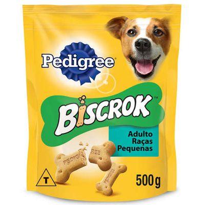 Biscoito Biscrok Adulto Raças Pequenas 500g