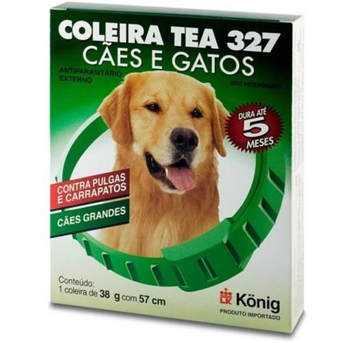 Coleira Antiparasitária Tea 327 - Cães de Grande Porte - 54cm