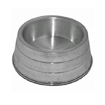 Comedouro de Alumínio Pesado p/ Cães - TAM. P