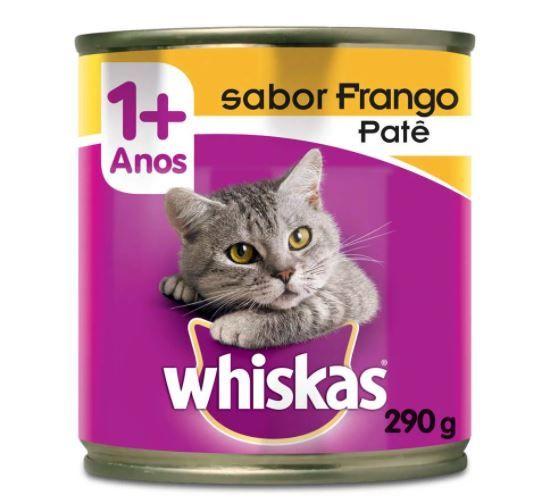 Patê Whiskas Sabor Frango 290 g