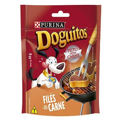Doguitos Bifinho Sabor Filés de Carne Nestle Purina – 65g