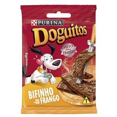 Doguitos Bifinho Sabor Frango Nestle Purina – 65g