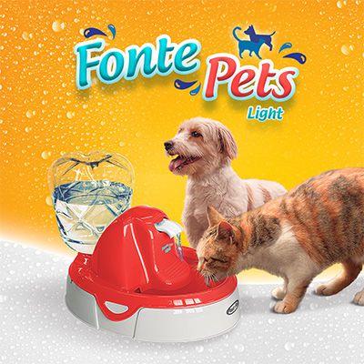 Fonte Pets Light - Bebedouro e Purificador