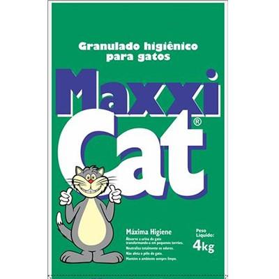 Maxxi Cat Areia Sanitária p/ Gatos 4kg