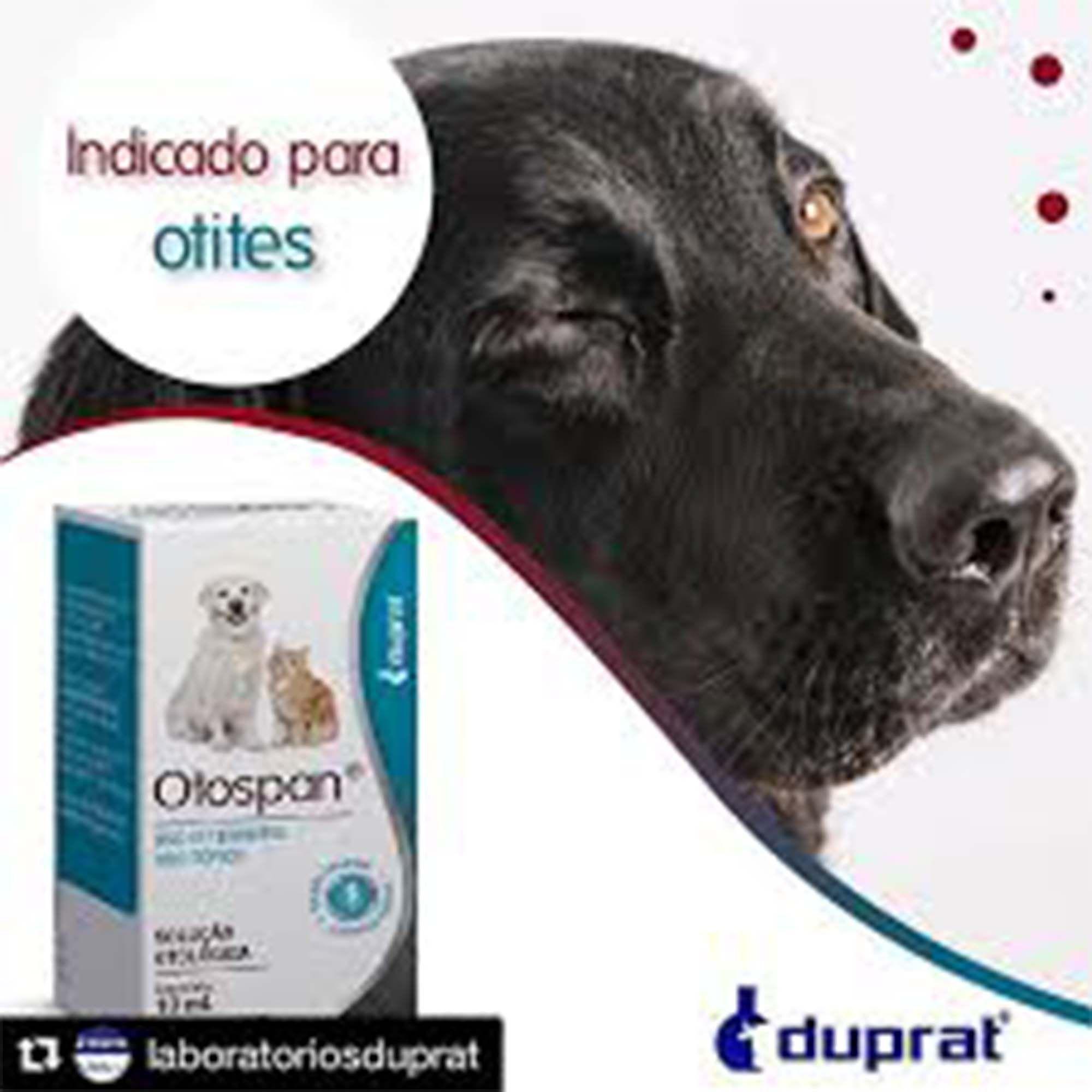 Otospan Anti-inflamatório Otológico para Cães e Gatos 10ml