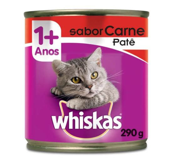 Patê Whiskas Sabor Carne 290 g
