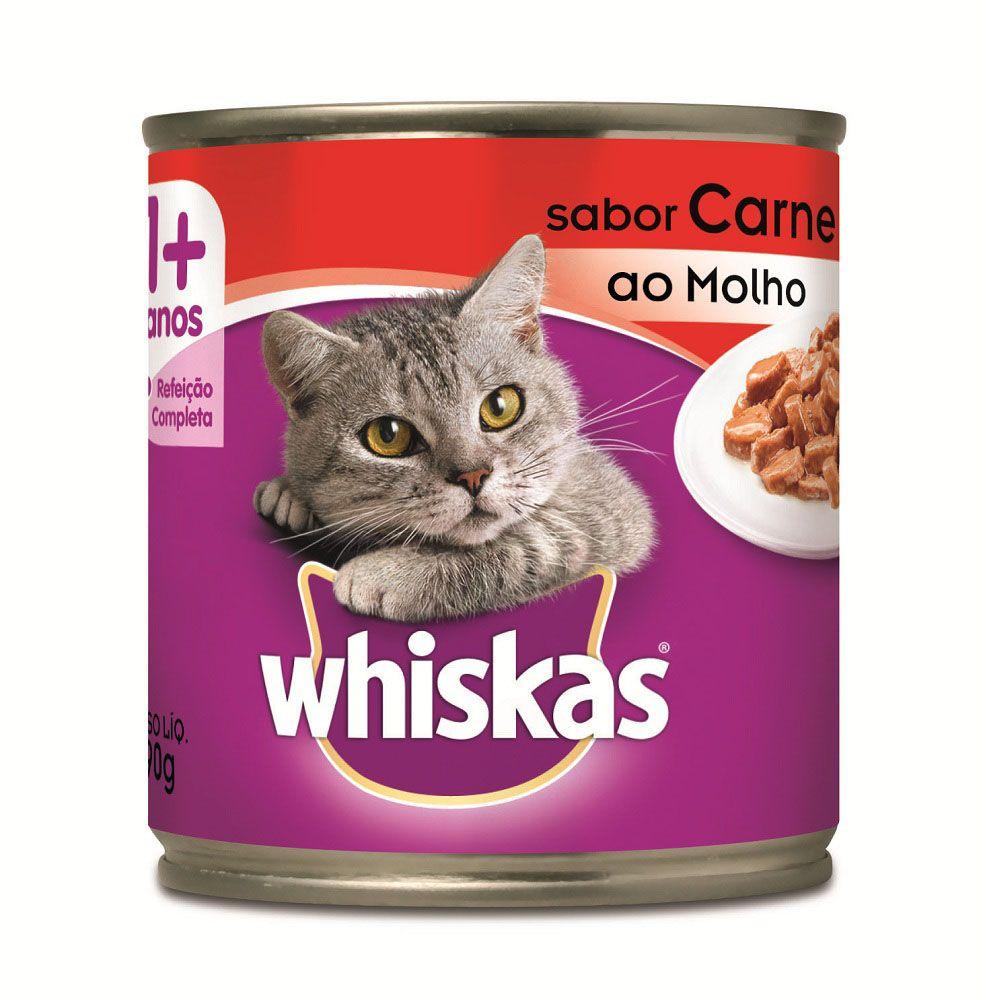 Patê Whiskas Sabor Carne ao Molho 290 g