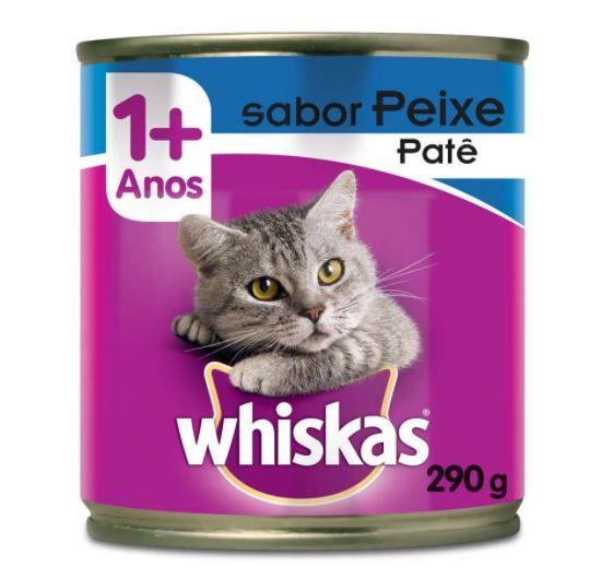 Patê Whiskas Sabor Peixe 290 g