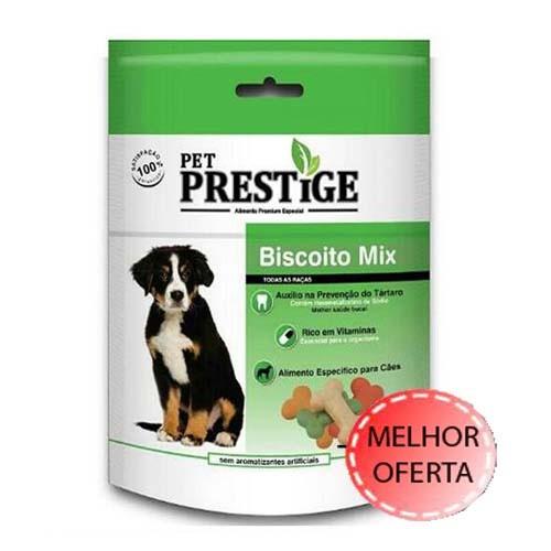 Biscoito Pet Prestige Mix p/ Cães 400g