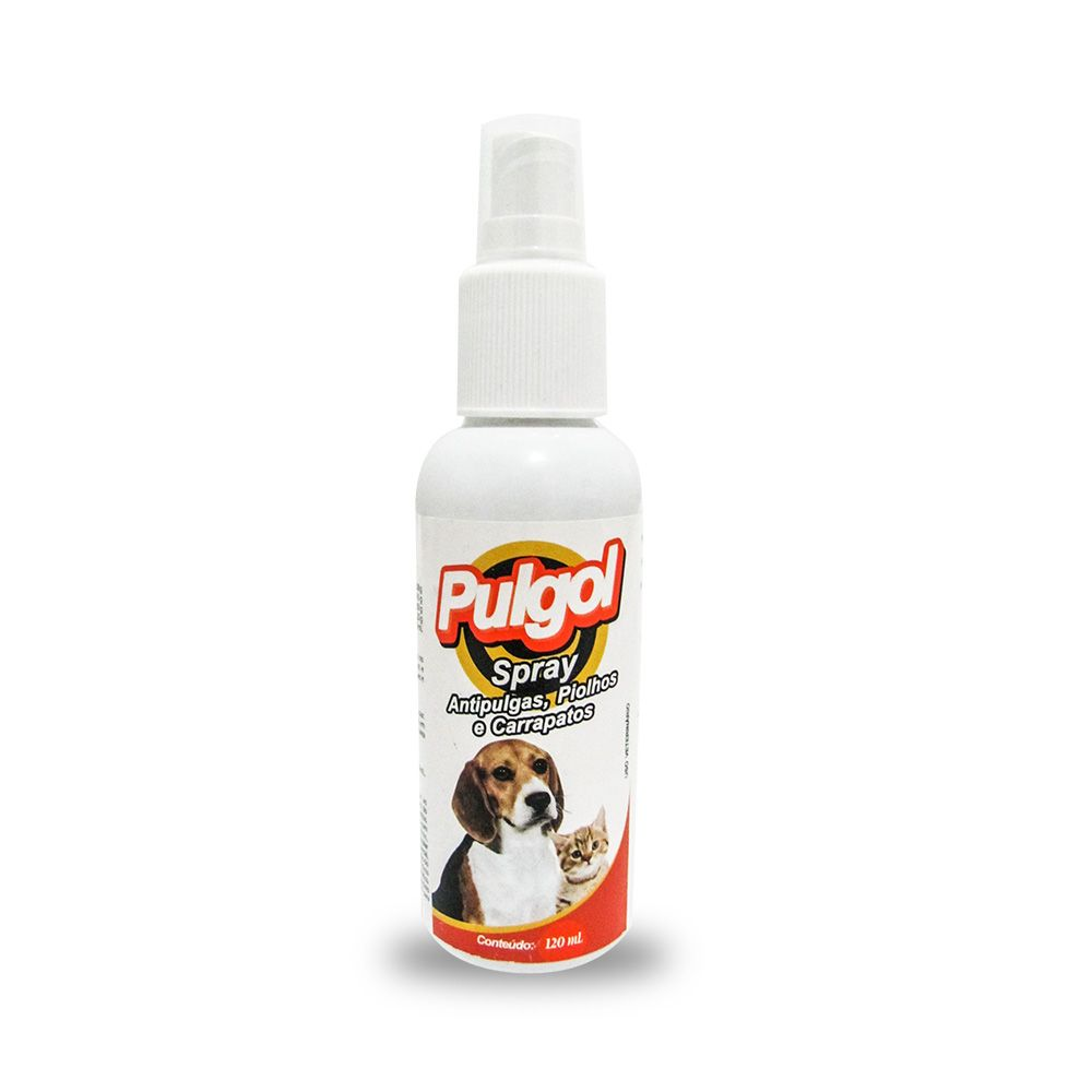 Pulgol Spray Antipulgas, Carrapatos e Piolhos 120ml