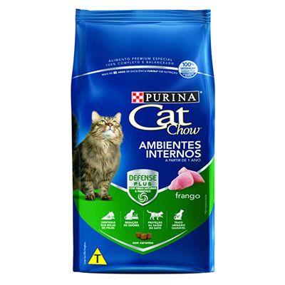 Ração Cat Chow Adultos Ambientes Internos 10,1KG