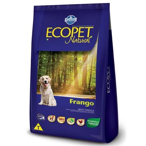 Ração Ecopet Natural Frango para Cachorro Adulto 20kg