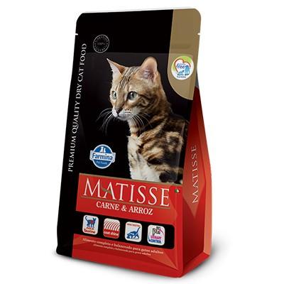 Ração Matisse Carne e Arroz - Gatos Adultos