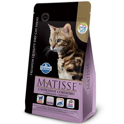 Ração Matisse Cordeiro - Gatos Castrados