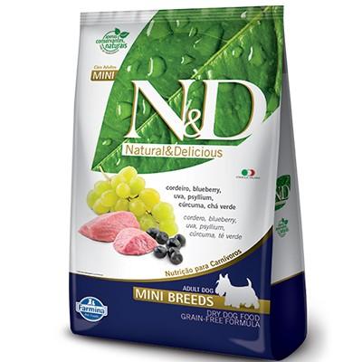 Ração N&D Cordeiro e Blueberry - Cães Adultos Pequeno Porte
