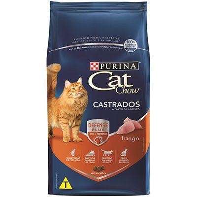 Ração Cat Chow Frango - Gatos Castrados - 10,1kg