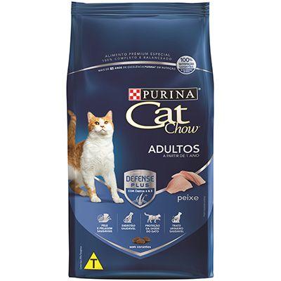 Ração Cat Chow Peixe - GATOS ADULTOS - 10,1kg
