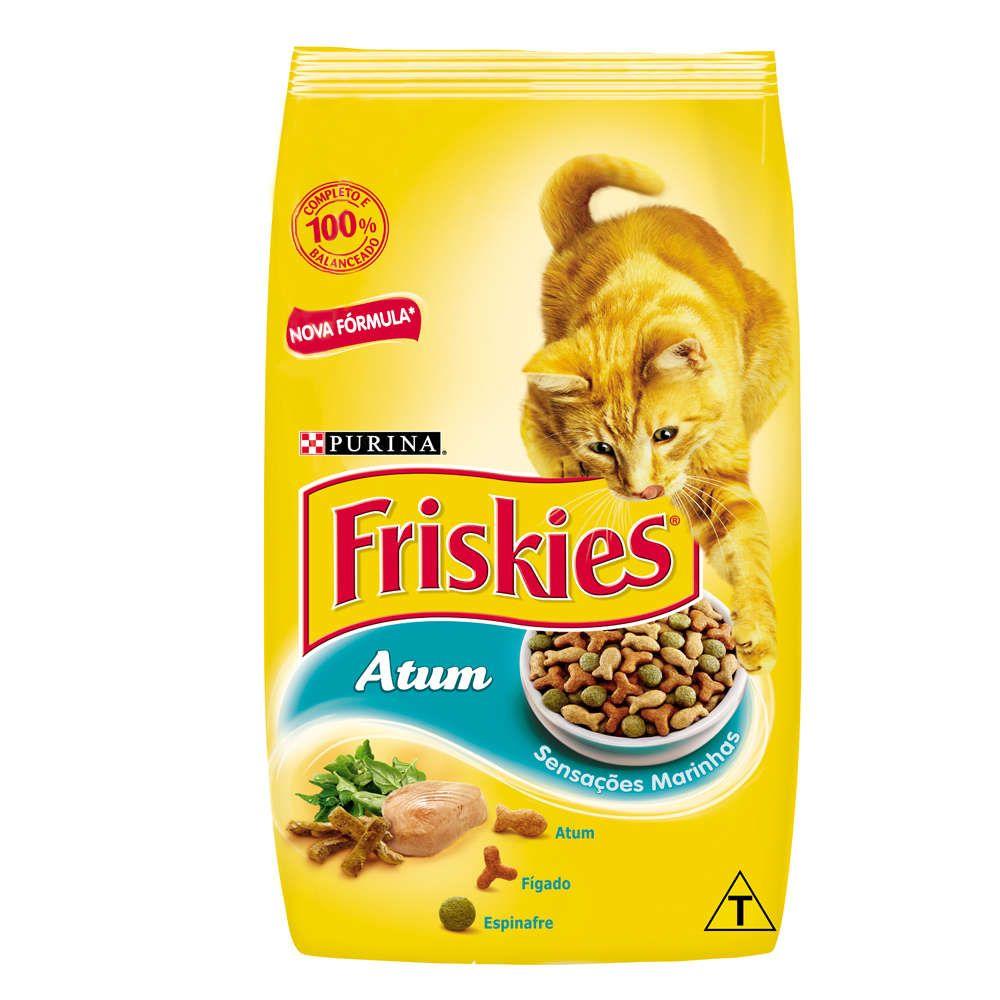 Ração Friskies Atum Sensações Marinhas - Gatos Adultos - 10,1kg