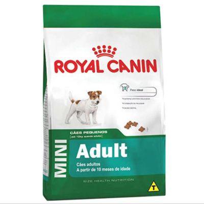 Ração Royal Canin Mini Adult p/ Cães Acima de 10 Meses de Idade