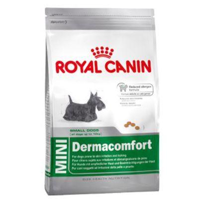 Ração Royal Canin Mini Dermacomfort p/ Cães Adultos ou Idosos de Raças Pequenas