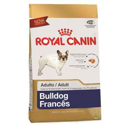 Ração Royal Canin Miniature para Cães Adultos da Raça Bulldog Francês
