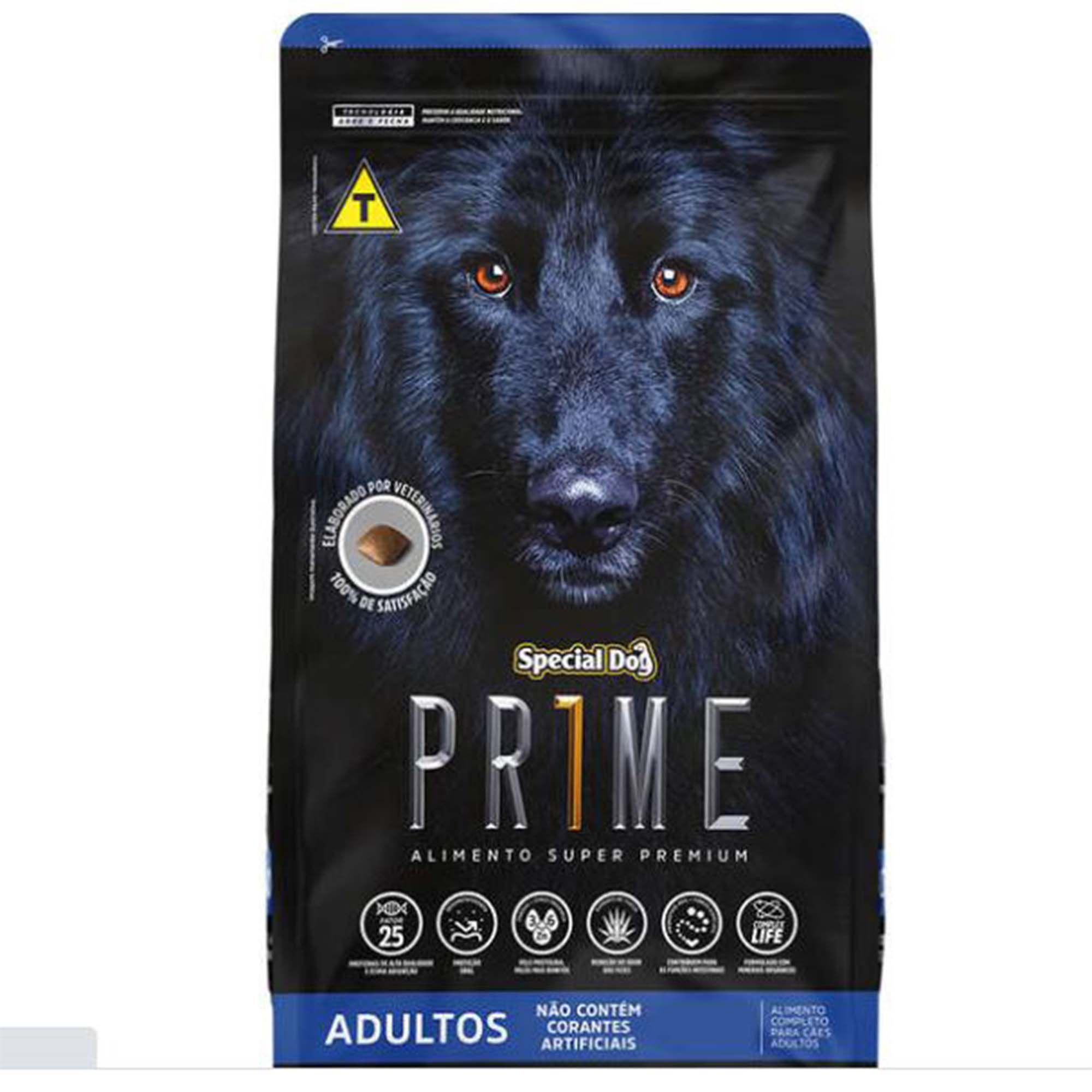 Ração Special Dog Prime - Cachorro Adulto de Porte Médio 15kg