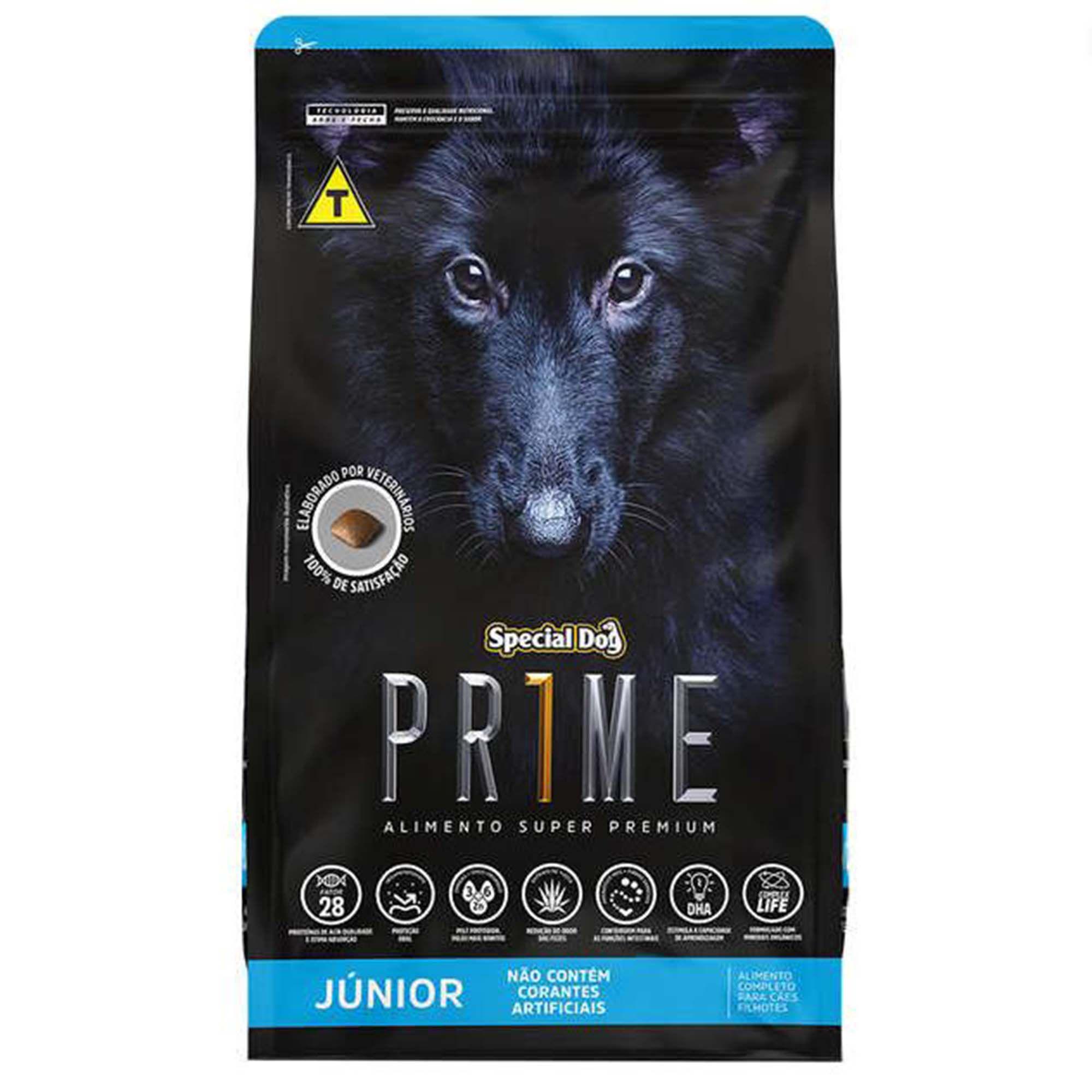 Ração Special Dog PRIME - Cachorro Filhote de Raça Média 15kg
