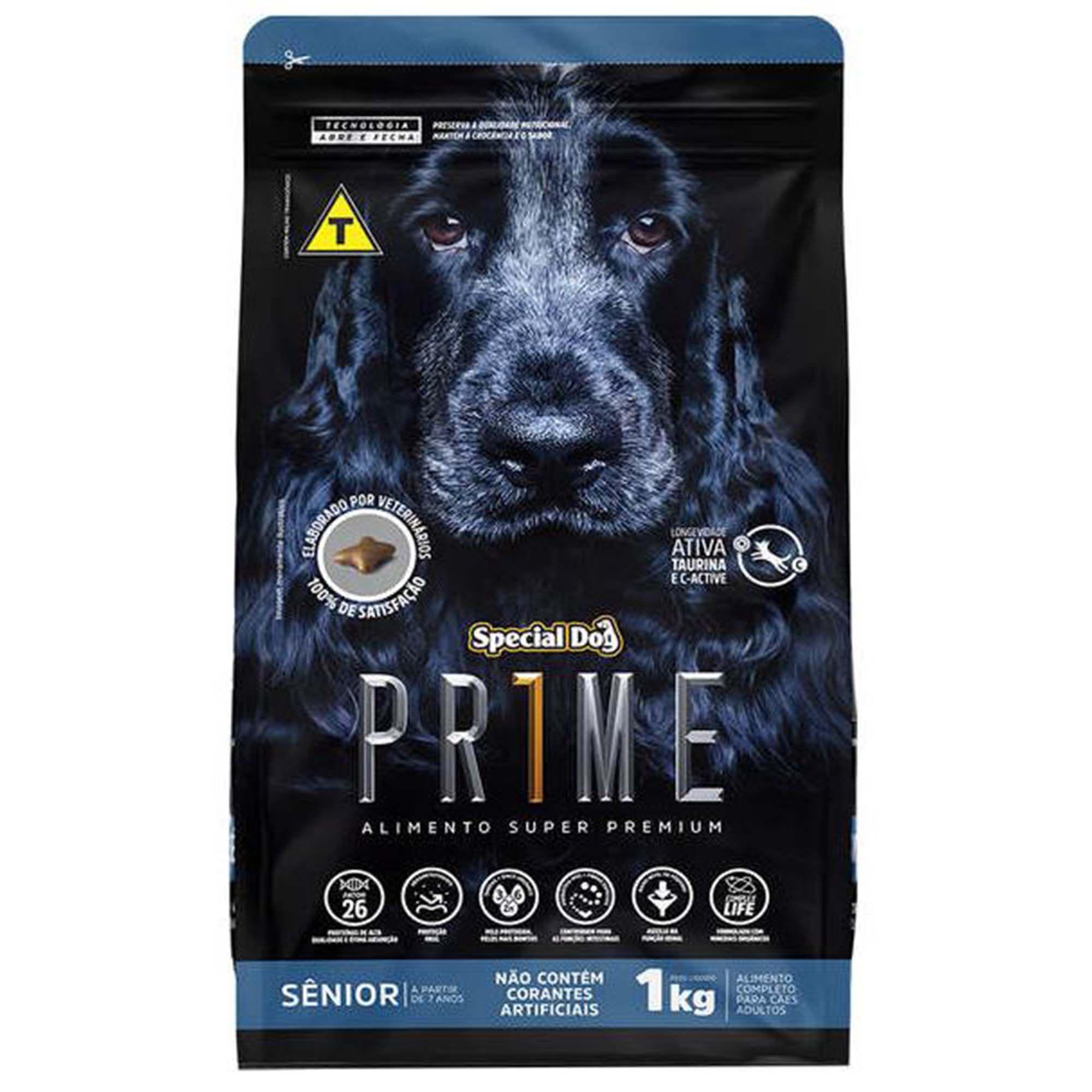 Ração Special Dog Prime Sênior - Cachorro de Porte Médio - 15kg