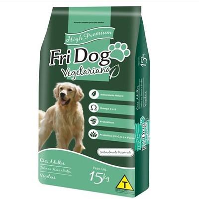 Ração Fridog Vegetariana - Cães Adultos - 15kg