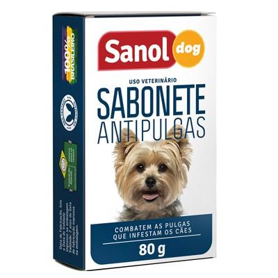 Sabonte Antipulgas Sanol Dog 80g