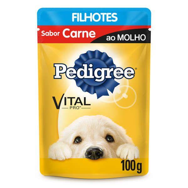 Sachê Pedigree Carne ao Molho - Filhotes - 100g