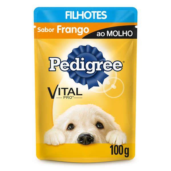 Sachê Pedigree Frango ao Molho - Filhotes - 100g