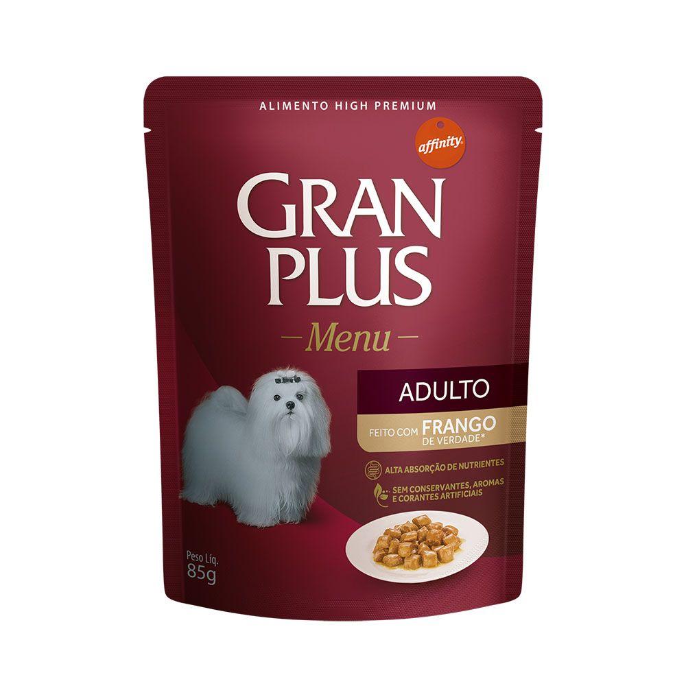Sachê GranPlus Guabi Menu Frango - Cães Adultos - 85g