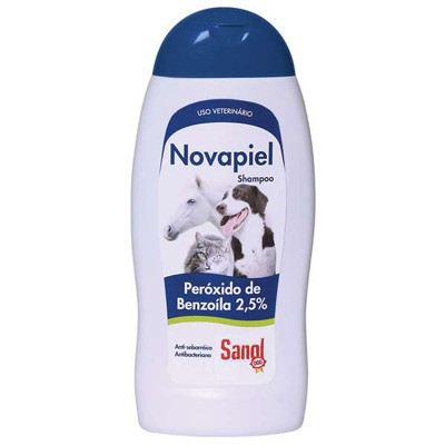 Shampoo Sanol Dog Dermatológico Novapiel  250ml