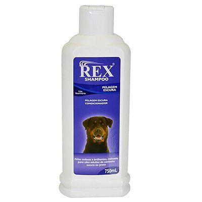 Shampoo Rex Pelagem Escura 750ml