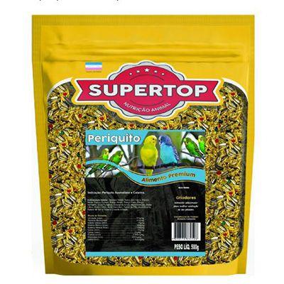 Supertop Periquito Australiano e Catarina - Alimento premium – 500g