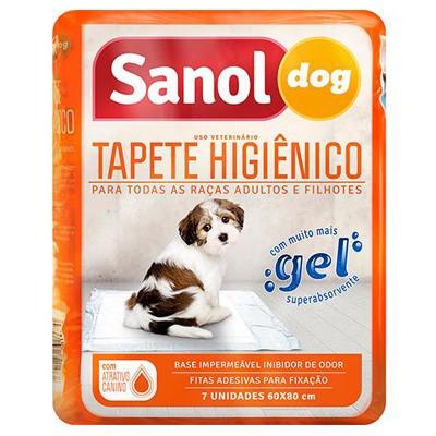 Tapete Higiênico Sanol Dog 7unid.
