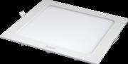 Kit 15 Plafon Led Quadrado Embutir 24w Branco Neutro 4000K