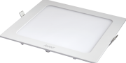 Kit 5 Plafon Led Quadrado Embutir 24w Branco Neutro 4000K