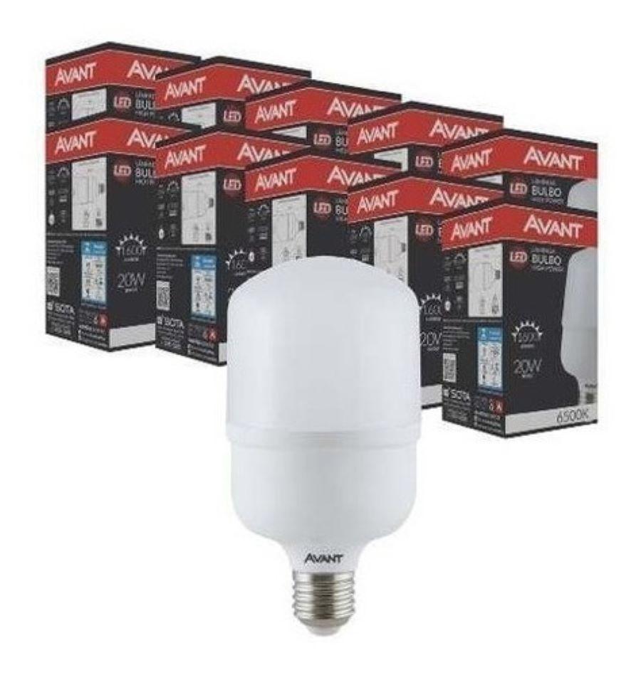 48 A Lâmpada LED Alta Potência Avant E27 20w
