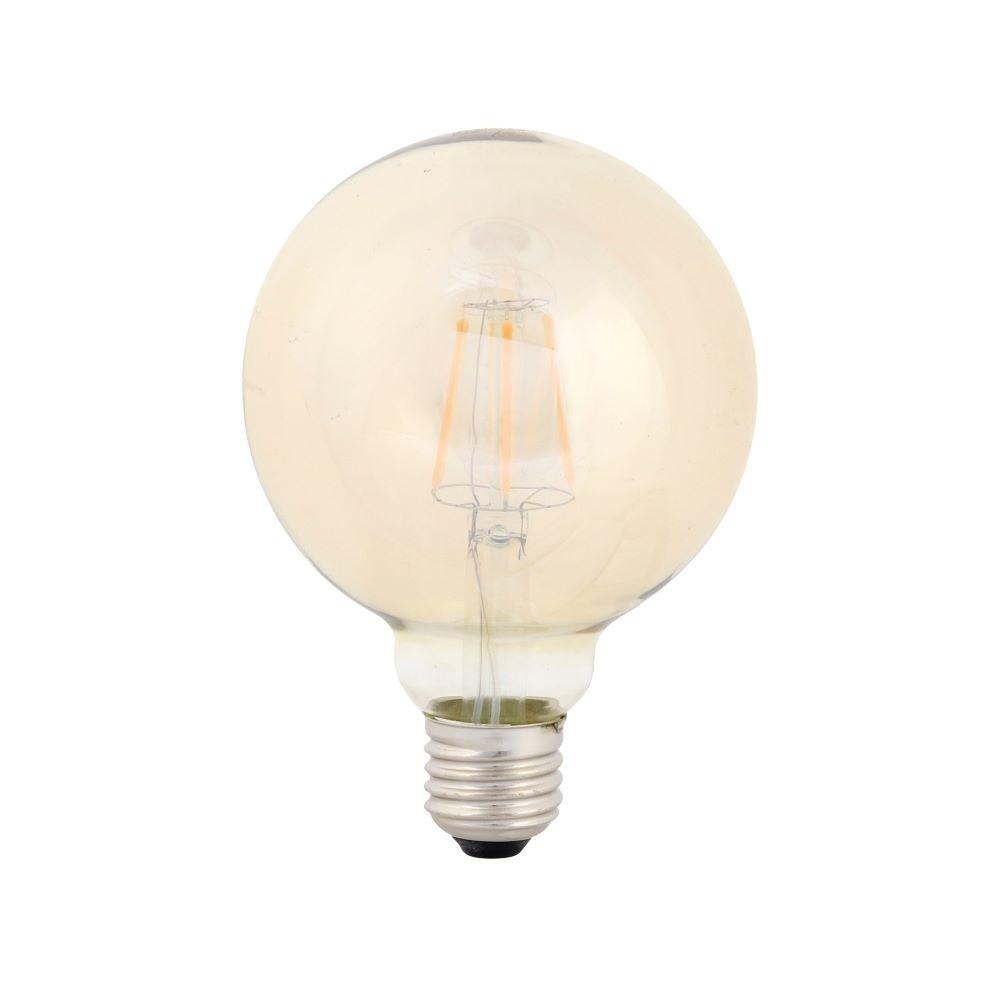Kit 10 Lampada Vintage Retrô Filamento De LED G95 4W BIVOLT