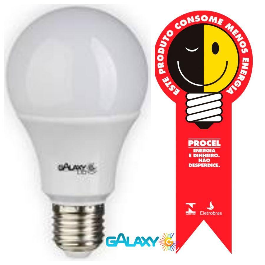 kIT 5 LAMPADA DE LED BULBO 12W BRANCA FRIA 6500K ORIGINAL COM GARANTIA 2 ANOS