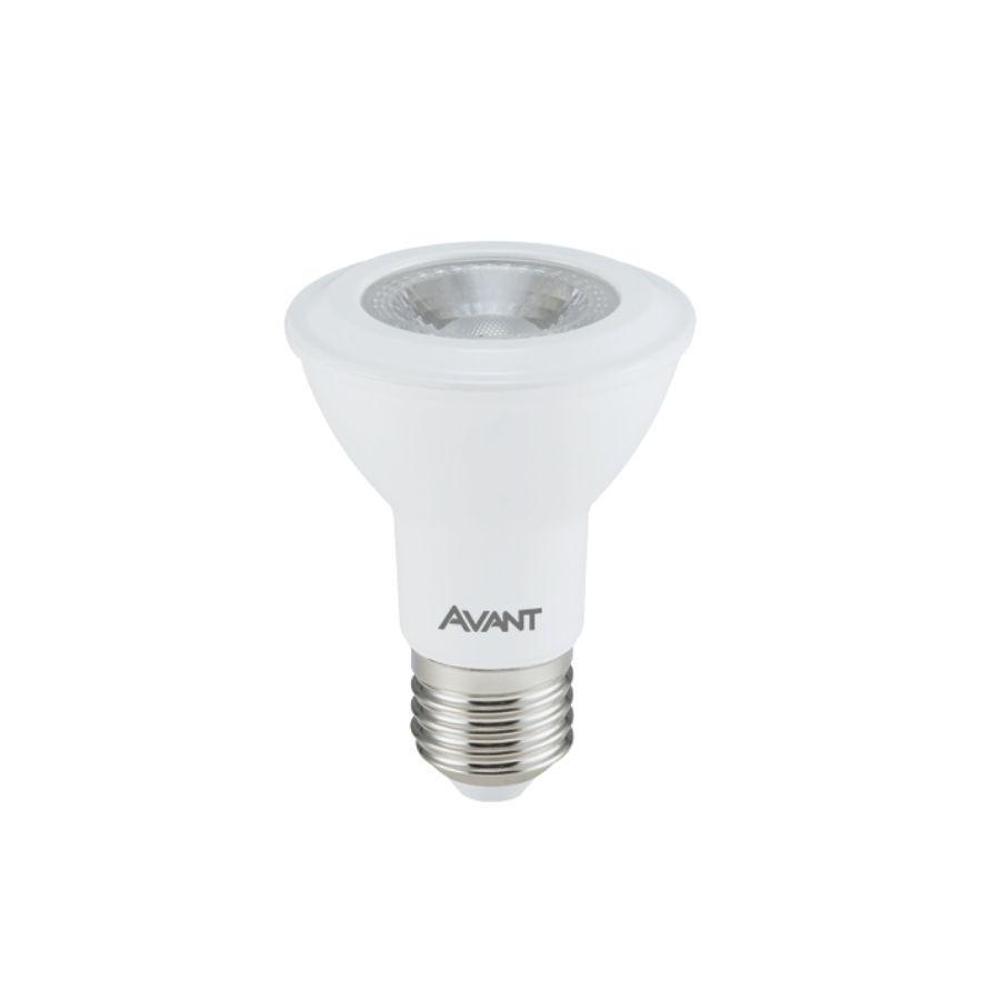 Lampada Par20 Led 7w Luz Quente 2700k Bivolt E27 Avant