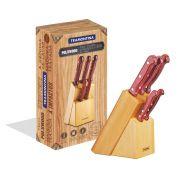Jogo de facas 6 peças 21199/783 | Lojas Estrela