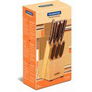 Jogo de facas 8 peças 22299/026 | Lojas Estrela